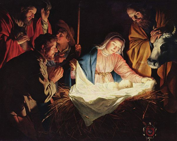 The Adoration of the Shepherds - Gerard van Honthorst (1590–1656)