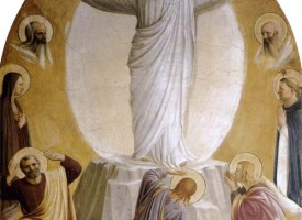 Transfiguration by Fra Angelico (San Marco Cell 6)