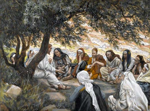 Brooklyn Museum - The Exhortation to the Apostles (Recommandation aux apôtres) - James Tissot